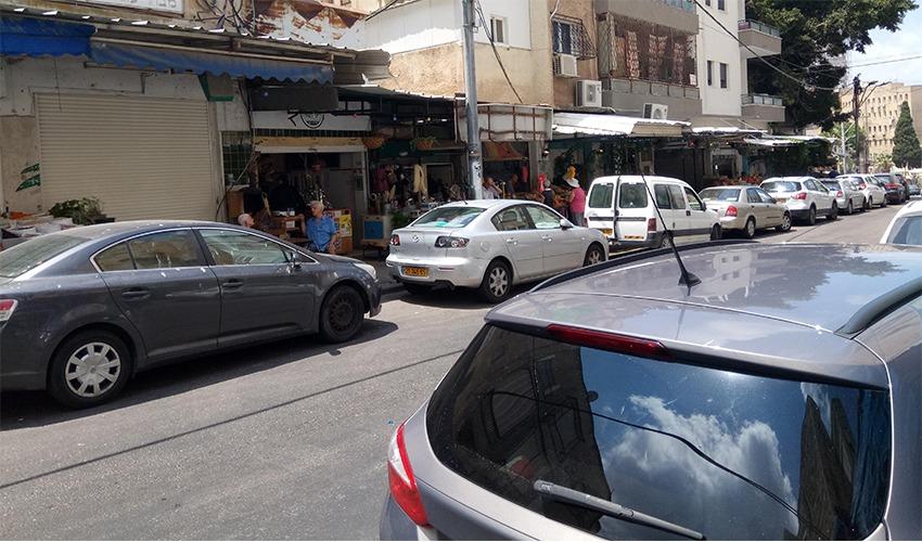 רחוב סירקין בשוק תלפיות