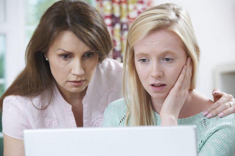 הטרדות מיניות ברשת. תמונה ממאגר Ingimage