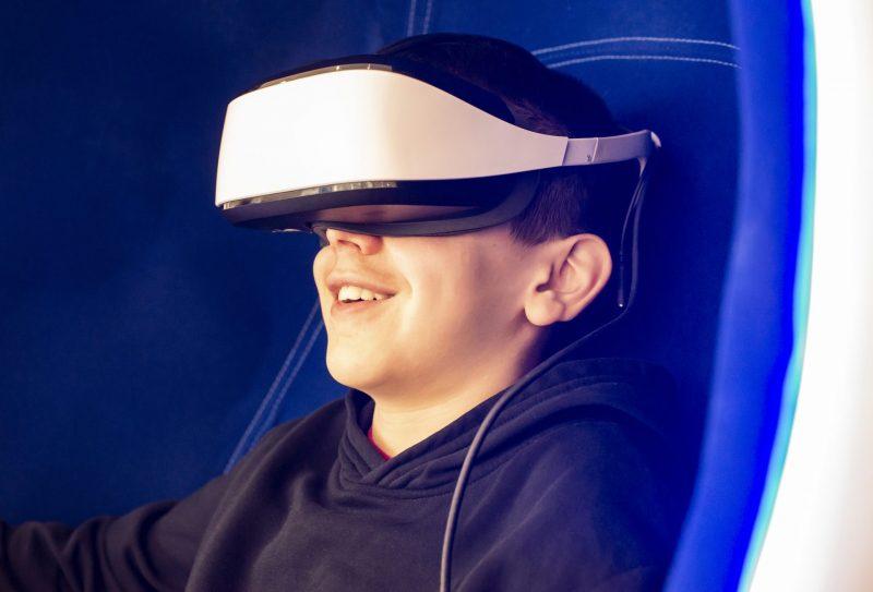 מציאות מדומה. תמונה ממאגר Ingimage