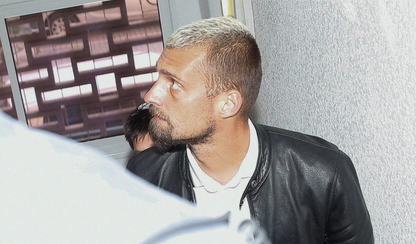 גבריאל תמאש בבית המשפט. ייצוג בחינם? (צילום: ניר קידר)