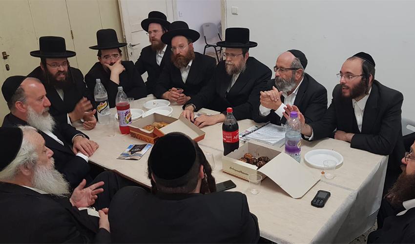 הפגישה של בכירי אגודת ישראל