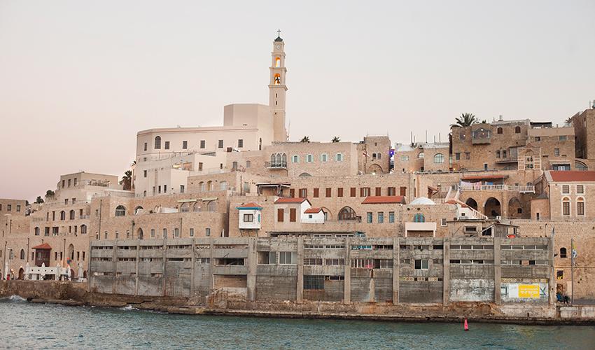 בית המכס בנמל יפו (צילום: דודו בכר)