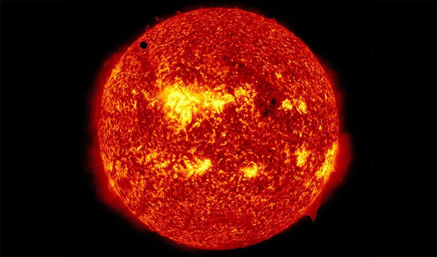 השמש (צילום: AP)