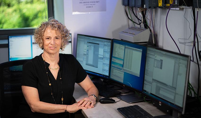 """ד""""ר שרה ביתן (צילום: דוברות הטכניון)"""