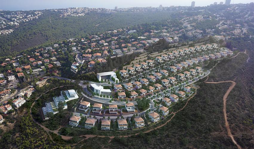 התוכנית להרחבת שכונת דניה (הדמיה: אנדו סטודיו)