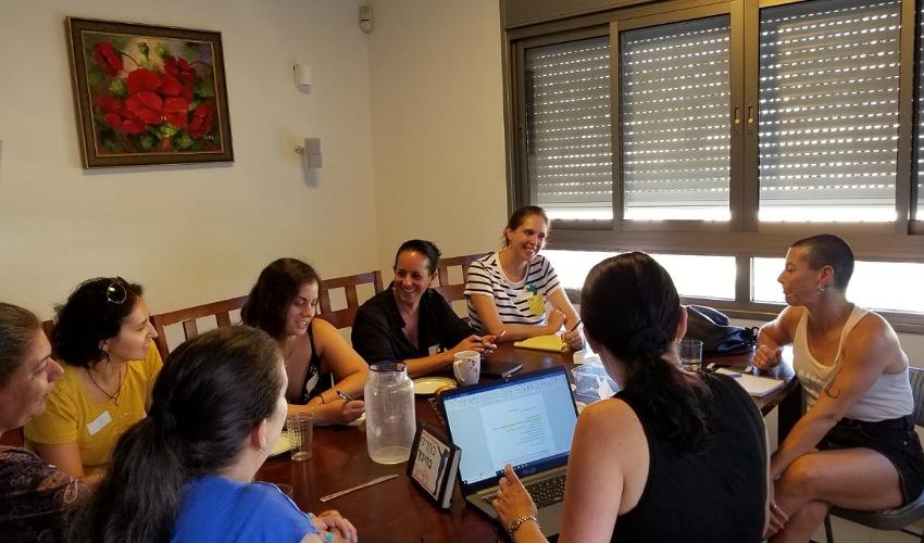 ישיבת הצוות המוביל של תנועת בוחרים בחינוך - חיפה