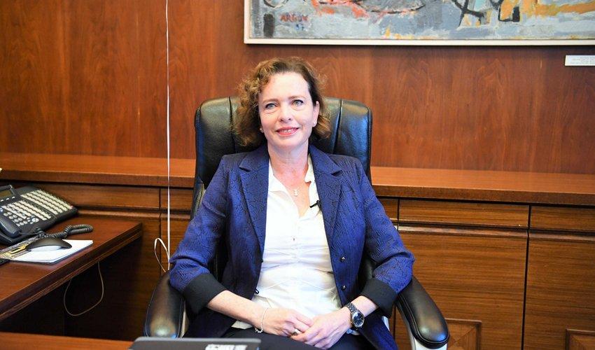 עינת קליש רותם (צילום: ראובן כהן, דוברות עיריית חיפה)