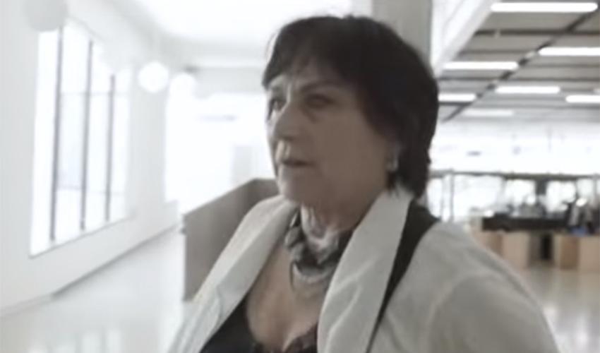 """עו""""ד לאה צמל (צילום מתוך הסרט """"לאה צמל, עורכת דין"""")"""