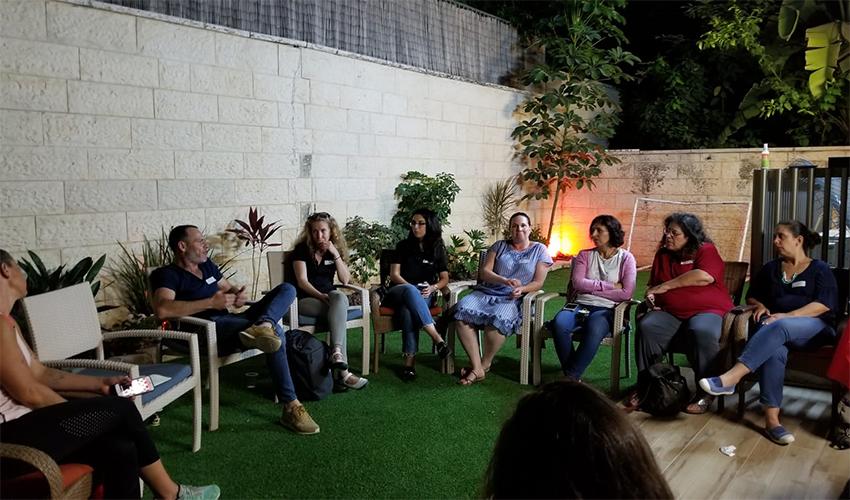 כנס ההקמה של תנועת בוחרים בחינוך - חיפה