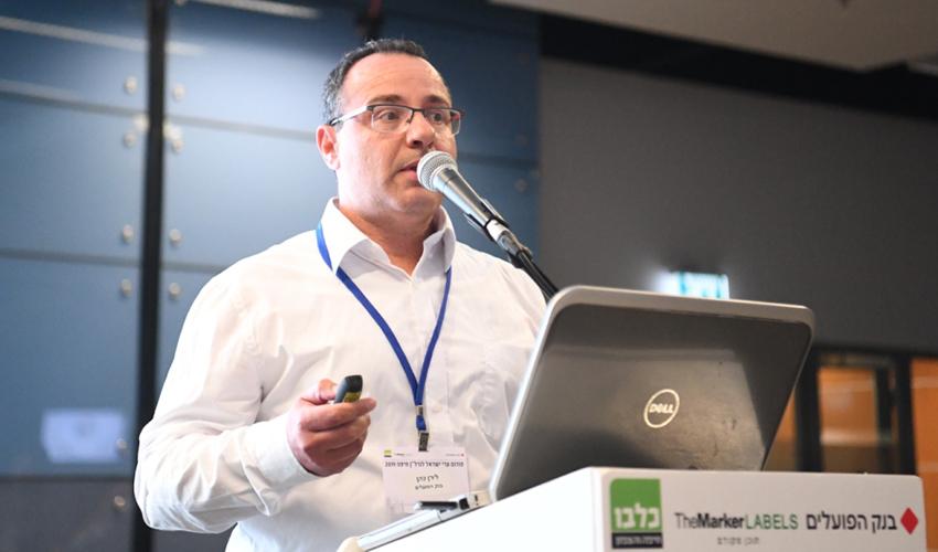 מנהל שיווק המשכנתאות של בנק הפועלים בחיפה לירן כהן (צילום: ראובן כהן)