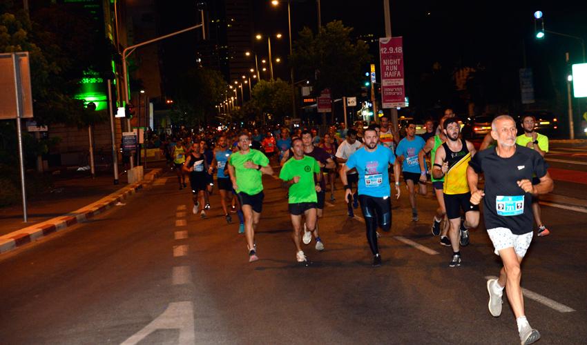 מרוץ הלילה של חיפה (צילום: סתיו גרץ, גולדפיש הפקות)