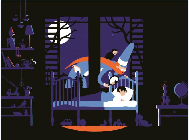מתוך ספר שר הילדים, 2019, מאת לאה גולדברג, הוצאת ספרית פולים 2016. קרדיט אמן - ניב תשבי