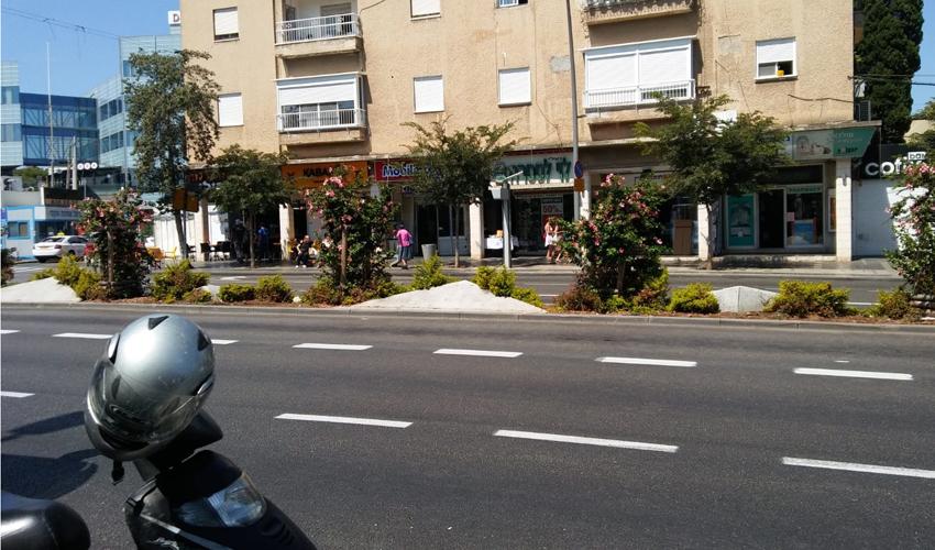 תחנת האוטובוס בשדרות הנשיא