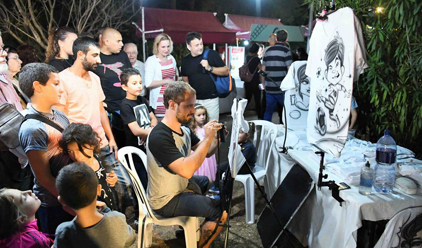 אירוע בפסטיבל בית גלים (צילום: דוברות עיריית חיפה)
