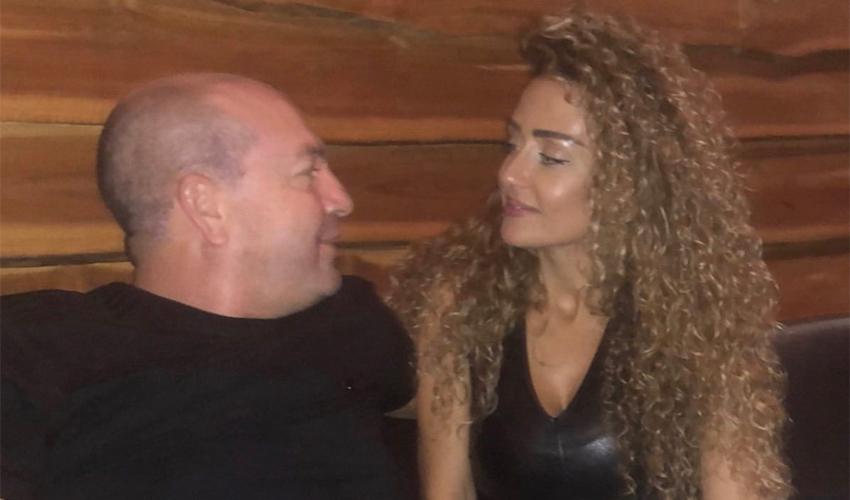 """איל ברקוביץ' ושרון כהן ניר. """"אהבה שלי"""" (צילום מתוך חשבון האינסטגרם של איל ברקוביץ')"""