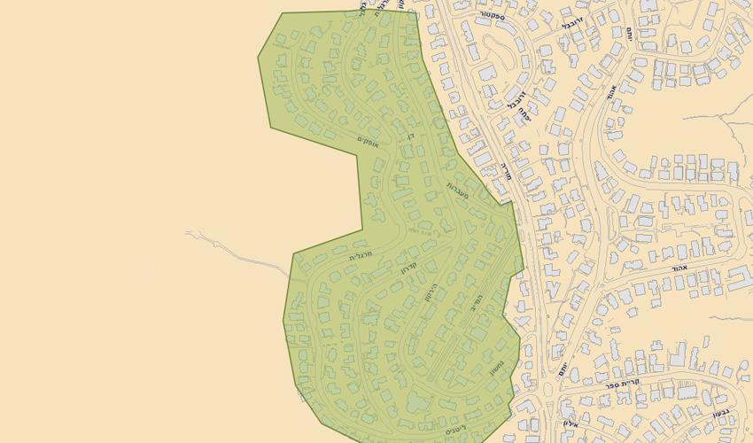 שכונת שמבור (תשריט: עיריית חיפה)