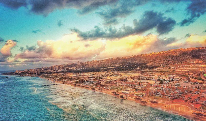 חופי חיפה (צילום: ניר בלזיצקי)