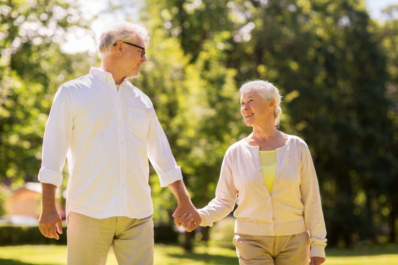 איכות חיים בכל גיל. תמונה ממאגר Ingimage
