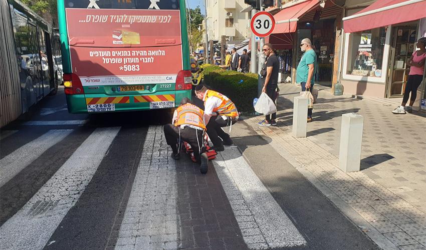 זירת התאונה (צילום: דוברות איחוד הצלה)
