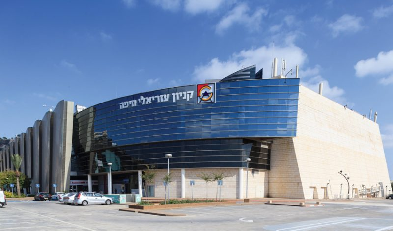 "קניון עזריאלי חיפה. צילום: יח""צ"