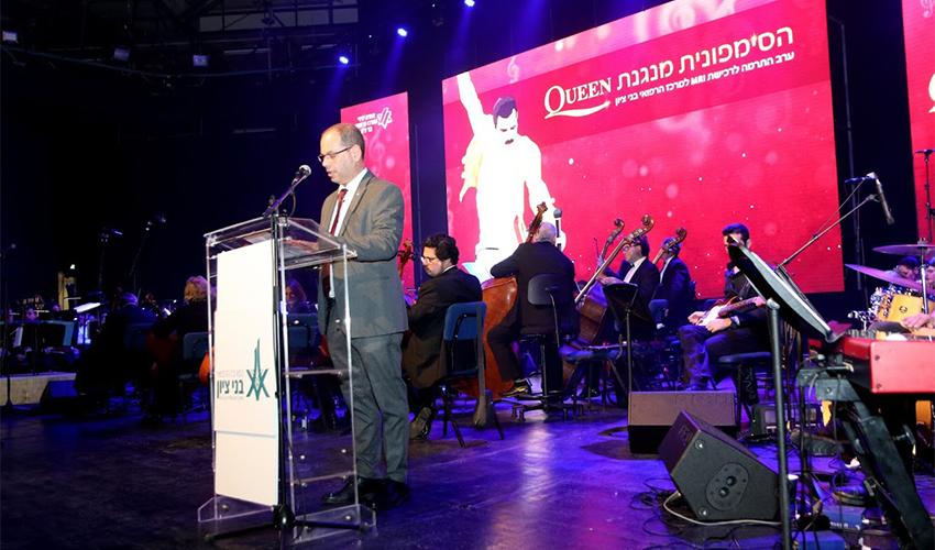 """ד""""ר אוהד הוכמן בערב הגאלה של אגודת ידידי המרכז הרפואי בני ציון (צילום: משה מעוז)"""