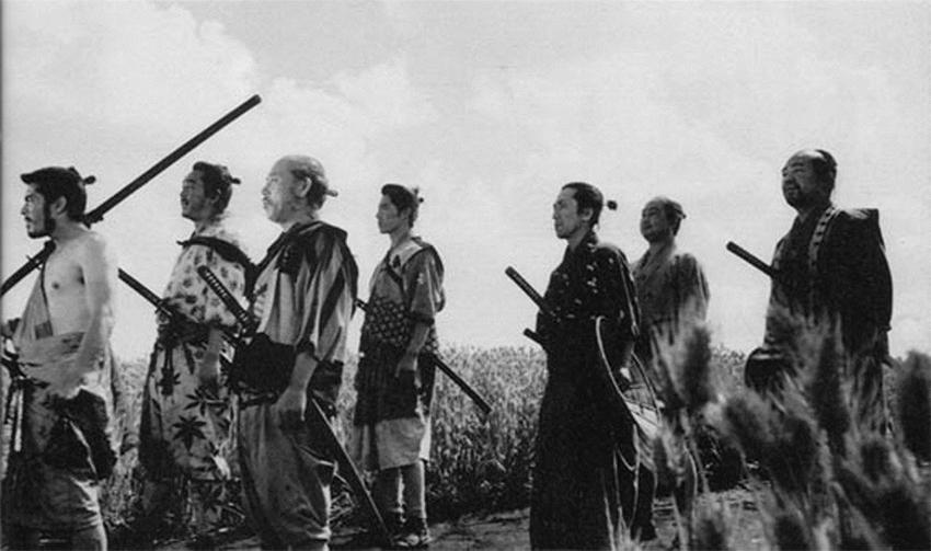 """""""שבעה הסמוראים"""" של אקירה קורסאווה. אין שום דבר אקסקלוסיבי בסרט יפני (צילום: וויקיפדיה)"""