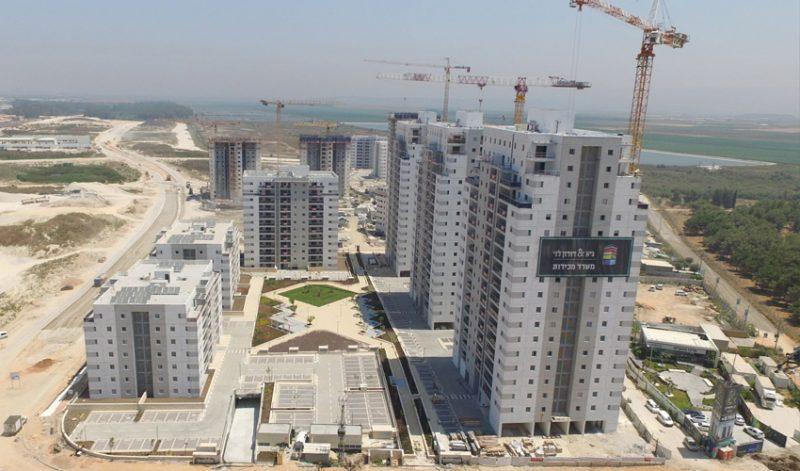 """673 יחידות דיור נמכרו עד כה אצל גיא ודורון לוי. פרויקט """"& קרית ביאליק"""". צילום: גיא ודורון לוי"""