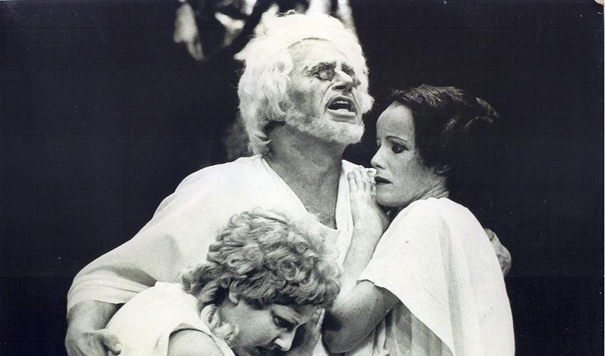 אדיפוס המלך (צילום: התיאטרון הלאומי הבימה)