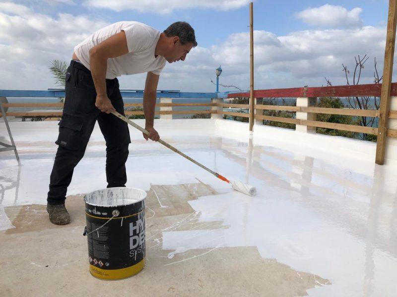איטום מלא ואפקטיבי של הגג שיחזיק מעמד לאורך זמן. צילום: ליאן תמם
