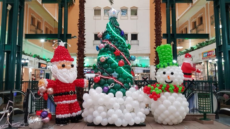 קניון סיטי סנטר Outlet חיפה חוגג את Christmas City. צילום עצמי