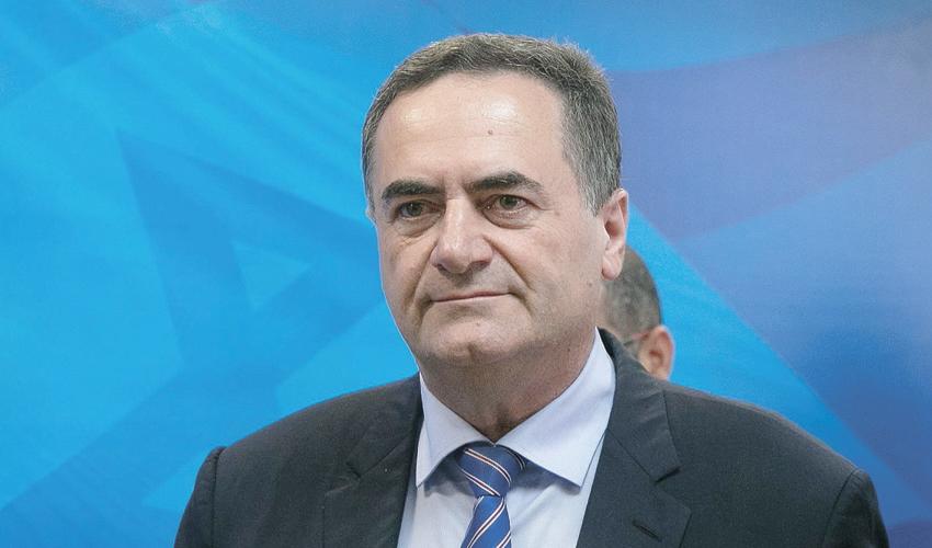 שר החוץ ישראל כץ (צילום: אוהד צויגנברג)
