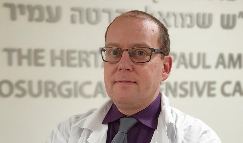 """ד""""ר עידו פלדור (צילום: נתנאל אייזיק)"""