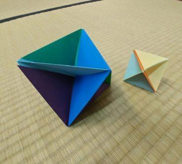 סדנת סביבון אוריגמי, מוזיאון טיקוטין. צילום: ג'ני כצנר