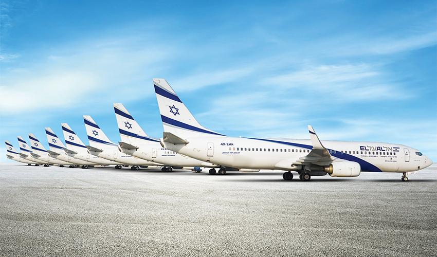 שמונת מטוסי ה-737-900 של חברת אל על (הדמיה: אל על)