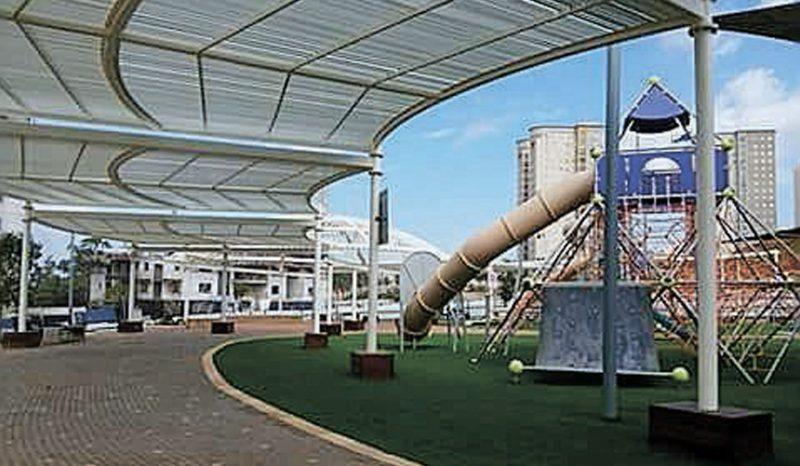 תכנית להקמת תשעה בניינים נוספים בשכונה רמת הנשיא. צילום: גדי נרוז'ני