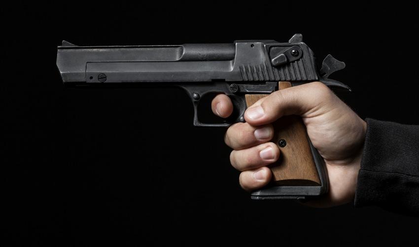 אקדח (צילום: א.ס.א.פ קריאייטיב/INGIMAGE)
