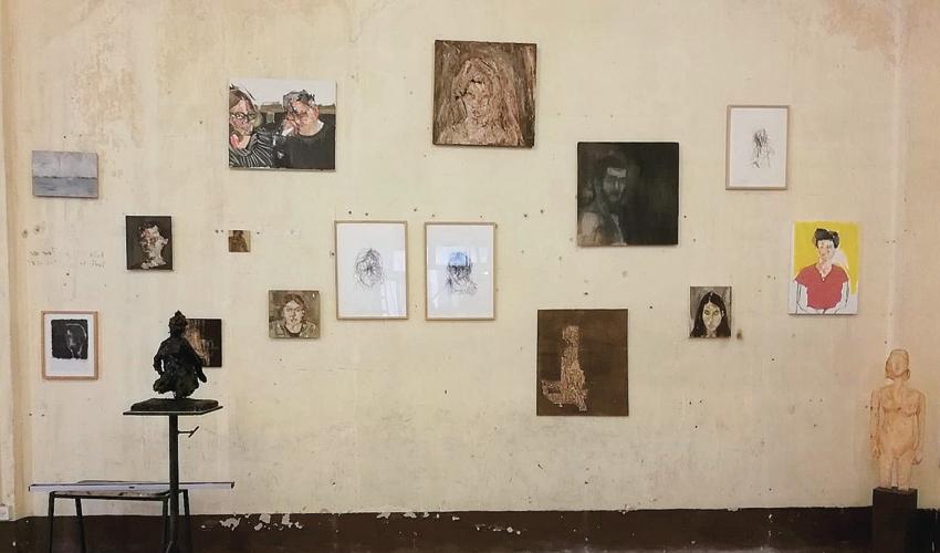 התערוכה בנמלה (צילום: שחר סיון)