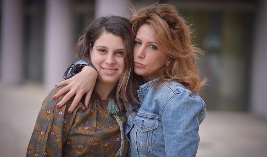 שירי גלברט סונסינו ובתה טומי (צילום: פפראצ'י דודי)