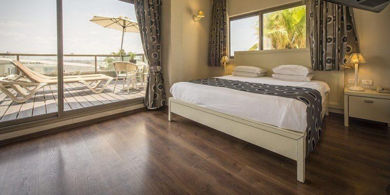 מלון חוף התמרים: חדרים נוחים, מרווחים, עם מפרט עשיר. התמונה באדיבות מלון חוף התמרים