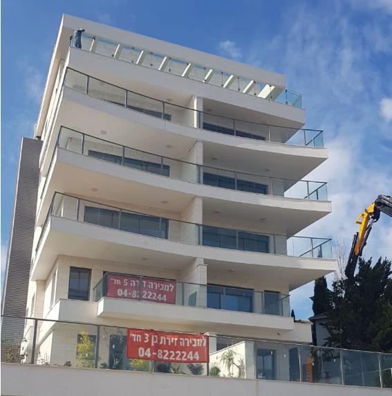 שובל מתחמי מגורים: בקרוב יחל אכלוס הבניין היוקרתי ברחוב אהוד 17 בחיפה. צילום: שרית נס