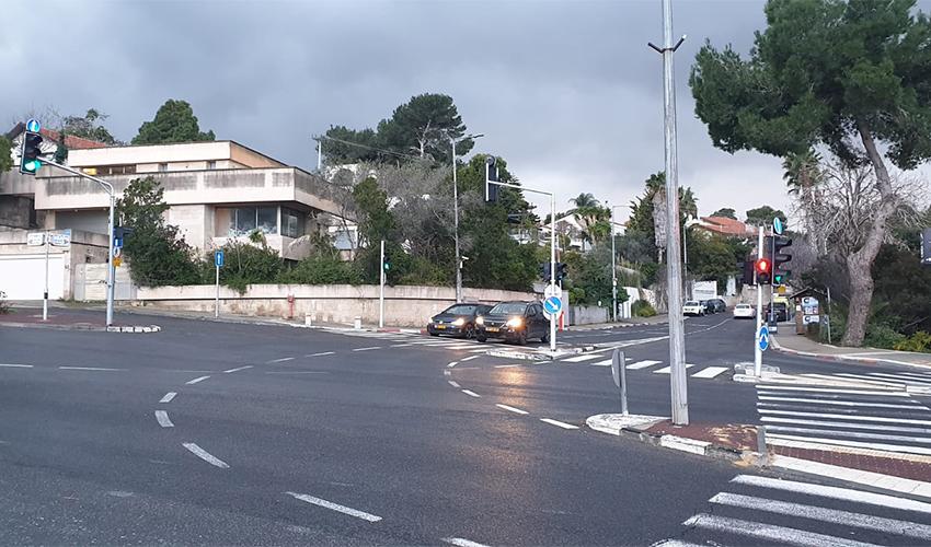 צומת דניה (צילום: בועז כהן)