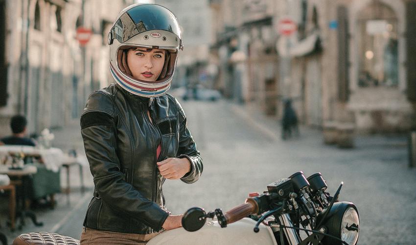 """טאשה פז. """"תמיד התעניינתי במוטוריקה, ואופנועים משכו אותי במיוחד"""" (צילום: אלי שירי)"""