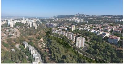 פרויקט ״ורדיה מול הים״ בשכונת ורדיה בחיפה. צילום: דוד דהאן