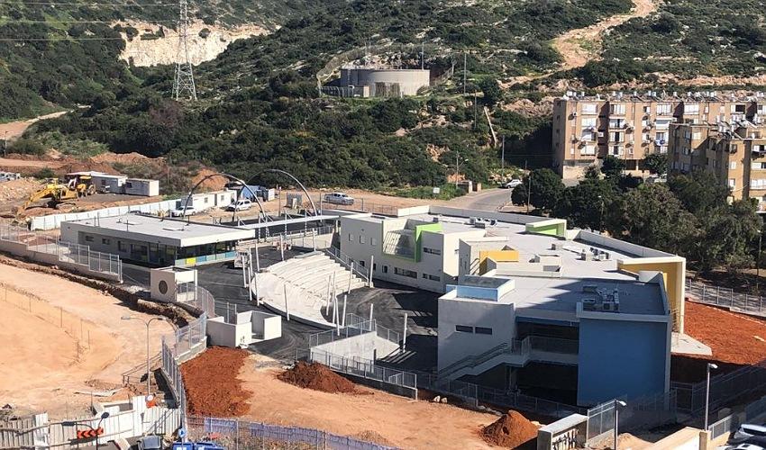 בית הספר רמת הנשיא (צילום: שושן מנולה)