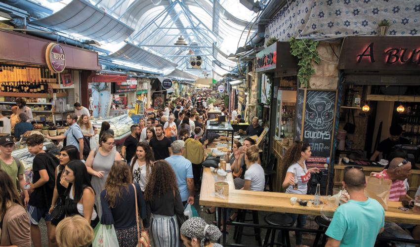 """שוק מחנה יהודה בירושלים. """"המסעדה תהיה באווירה ירושלמית"""" (צילום: אוליבייה פיטוסי)"""