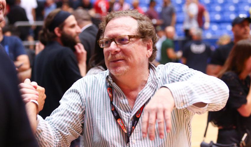 ג'ף רוזן. קשה להאמין שמישהו במכבי יצטער על ביטול המסע (צילום: דני מרון)