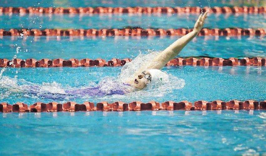 תחרות שחייה. בריאות חשובה יותר מספורט (צילום: איגוד השחייה הישראלי)