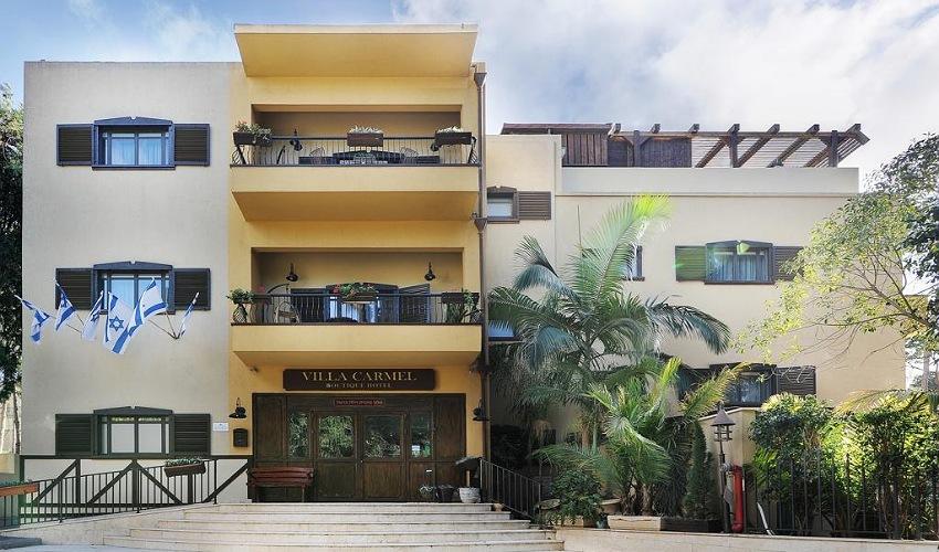 """מלון וילה כרמל (צילום: יח""""צ)"""