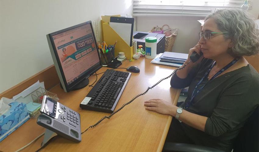 האחראית על תחום הפסיכולוגיה ההתפתחותית ציפי חיימוביץ' (צילום: דוברות שירותי בריאות כללית)