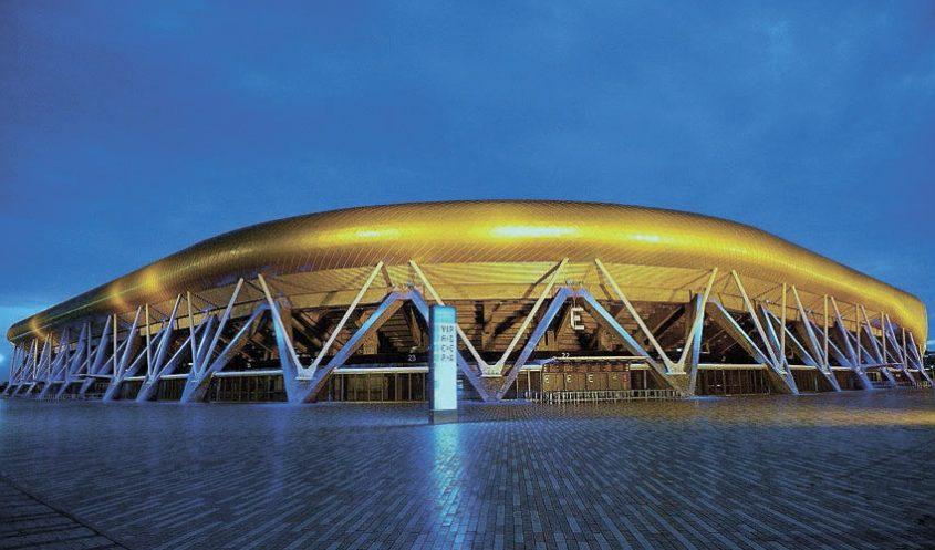 האיצטדיון העירוני. מקווים להכנסות משטחי המסחר (צילום: צבי רוגר)